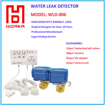 2015 Newest Water Leak Detector With Automatic Shut Off Valve