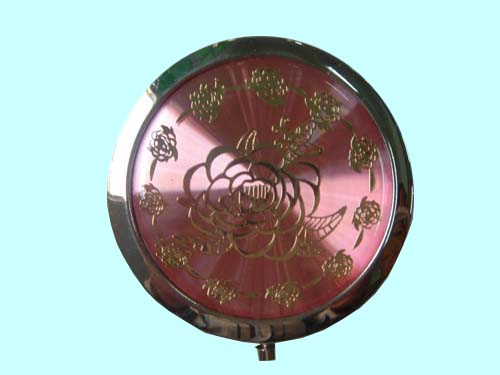 2015 Promotion Gifts Metal Make Up Mirror With Antique Imitation