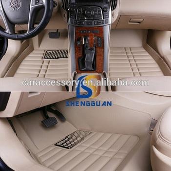 2016 Latest Design 5d 3d Car Floor Foot Mats