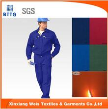 2016 New Design Flame Retardant Workwear For Firefighting Fire Resistant Safty Colthing
