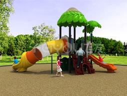 2016 New Design Of Large Outdoor Playground Plastic Slide Set For Kids Fy01601