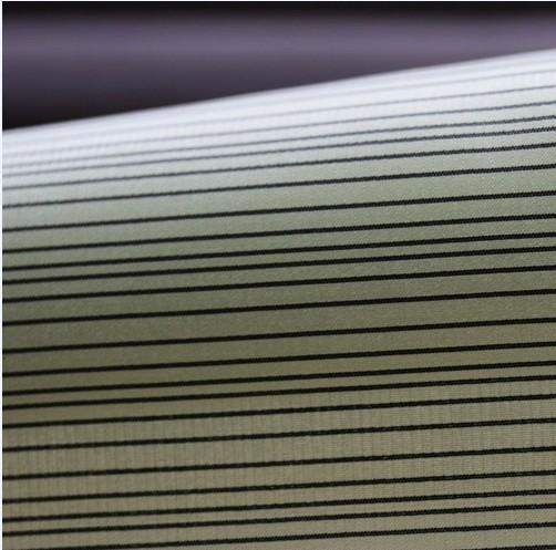20d Polyester Nylon Interweave Fabric Irregular Stripe