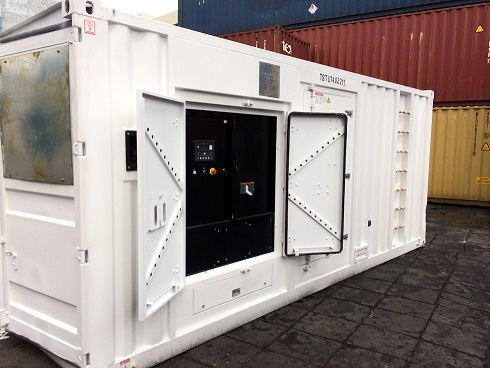 20ft Containerized Gensets For Mining Application