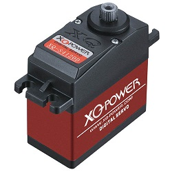 20kg Torque 7 4 8 5v Digital Servo With Titanium Gear Xq S4120d