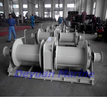 20kn Electric Mooring Winch
