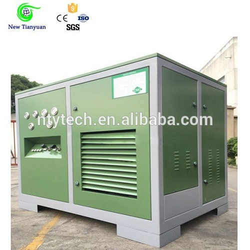 20mpa Discharge Pressure Small Cng Mobile Refuelling Station For Commercial Use