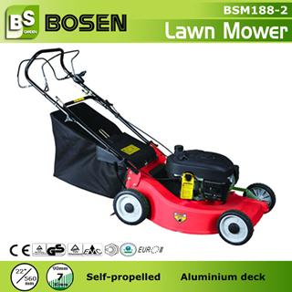 22 Aluminium Deck Hand Push Lawn Mower