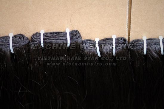 22 Premium Straight Machine Weft Hair