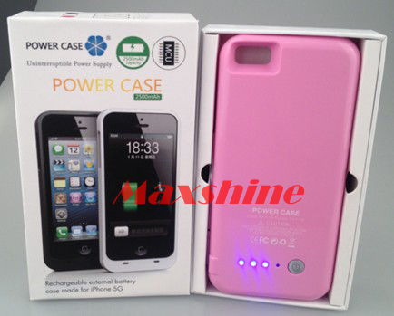 2200mah Battery Case For Iphone 5 Maxshine Technology Co Ltd