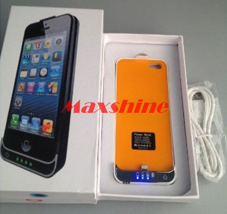 2200mah Mobile Battery Case For Iphone 5 Maxshine Technology Co Ltd