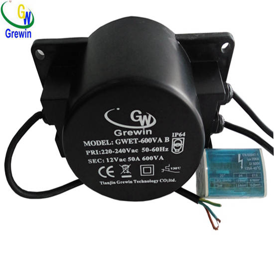220v 12v 600va Outdoor Ring Transformer For Pond Lighting