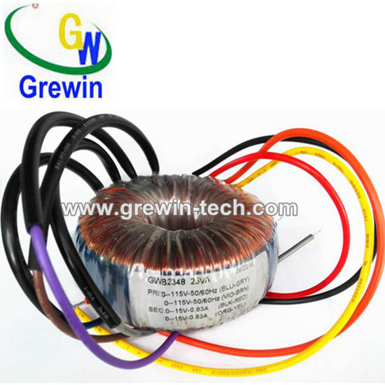 220v 24v 50w Lighting Toroidal Transformer For Indoor
