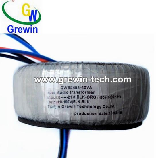 240v 0 70 90 0v 25w Audio Toroidal Transformer For Power Amplifier