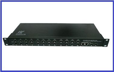 24port Sfp Web Smart Fiber Switch