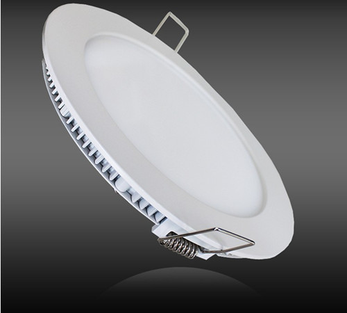 24w Round Led Panel Cool White With Dali Dimmable And Emergency