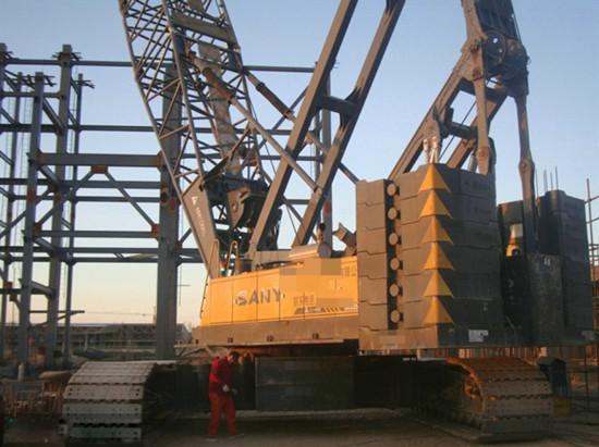 250 Ton Used Sany Crawler Cane