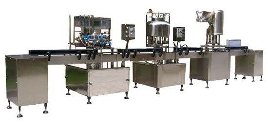 2500bph Small Bottle Automatic Water Bottling Filling Machine