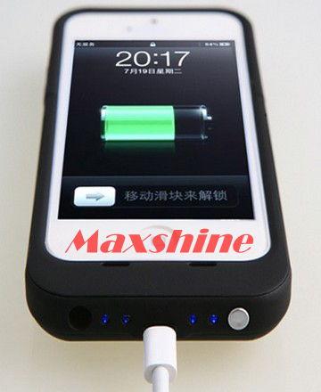 2500mah Battery Case For Iphone 5 Maxshine Technology Co Ltd