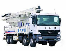 25m Truck Mounted Concrete Pump