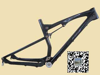 26er Full Suspension Carbon Frame Fm076 With Carton Foam Packing