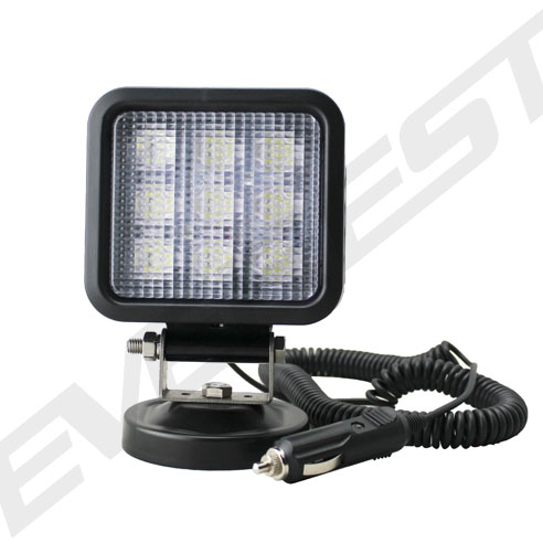 27w Led Light With Magnet Base For Inspection Lighting