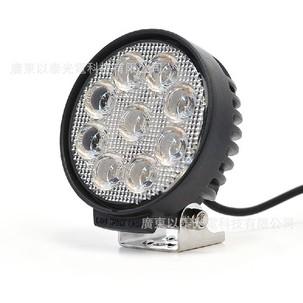27w Round Work Light E Wl 00014