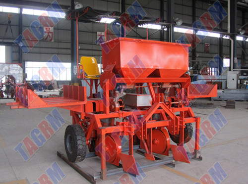 2amsu Two Row Cassava Planting Machine Flat Type
