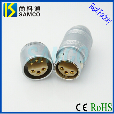 2c Lemo Substitute Metal Circular Push Pull Self Locking Connector