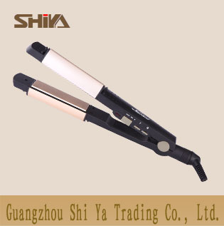 2in1 Hair Straightener And Curler With Led Display Sy 862