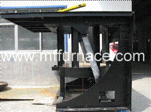 2ton Steel Induction Melting Furnace With Hydraulic Tilting