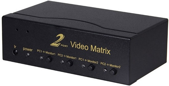 2x2 Vga Audio Matrix