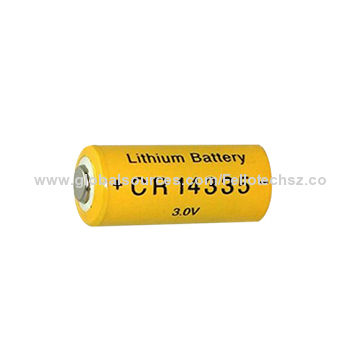3 0v Limno2 Cr14335 2 Aa Non Rechargeable Lithium Battery For Electronic Locks Monitor Systems