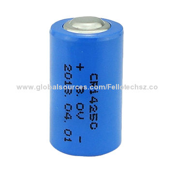 3 0v Primary Limno2 Battery Cr14250 1 2aa For Medical Equipment Water Gas Meter