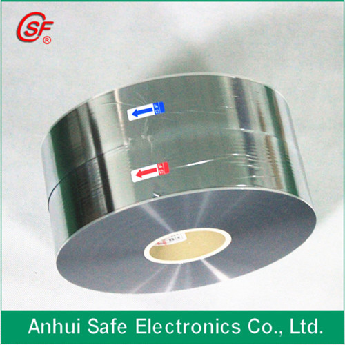 3 12 Micron Al Zn Metallized Polypropylene Film