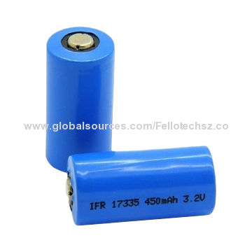 3 2v 450mah Ifr17335 Lifepo4 Lithium Battery High Quality Lfp Cell For Energy Storage Ups