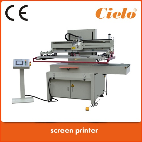 3 4 Automatic Flat Screen Printing Machine