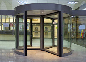 3 4 Wing Automatic Revolving Door