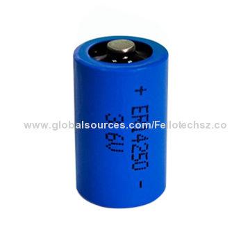 3 6v 1 2aa 200mah Er14250 Li Socl2 Lithium Batter Water Meter Wireless Sensors Battery
