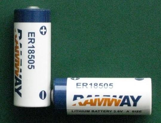 3 6v Lithium Battery Er17505 Er18505 A Size Ls17500 Er17500 Er17 50 Er18
