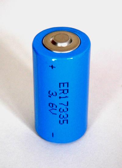 3 6v Lithium Thionyl Chloride Battery Er17335 2 3a Size Er17330v Ls17330