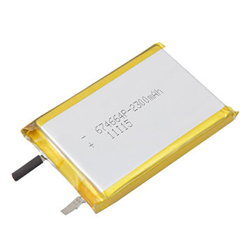 3 7v Lipo Lithium Polymer Battery 2 300mah With Protection Board For Mp3 4 China Oem Factory Supply