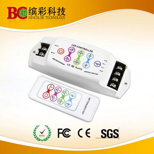 3 Channels Dc12v 24v Rf Remote Rgb Led Lights Controller