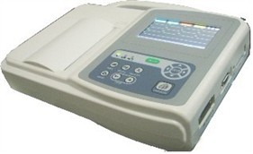 3 Channels Ecg Machine