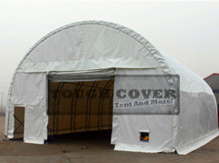 30 Feet Wide Round Truss Fabric Structure Storage Building Warehouse Tent
