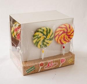 30 Snail Net Weight 100gr Display Fruit Flavour