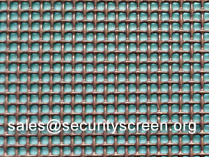 304 Stainless Steel Security Screen