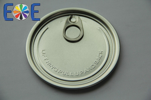 307 Aluminium Dry Powder Can Lid 83mm Easy Open Cap Company