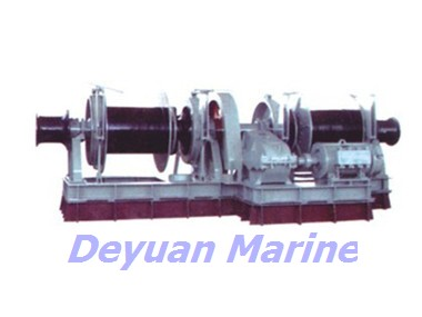 30kn Electric Anchor Windlass And Mooring Winch