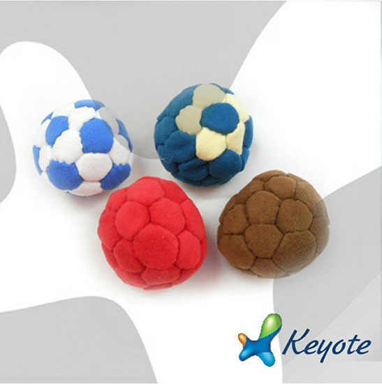 32 Panel Suded Nap Footbag Juggling Ball