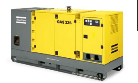 325kva 260kw Qas 325 Atlas Copco Generator For Sale